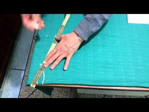 اسهل طريقة لتفصيل قب الجلابة المغربية (لن تواجه اي مشاكل بعد مشاهدة الفيديو) - YouTube