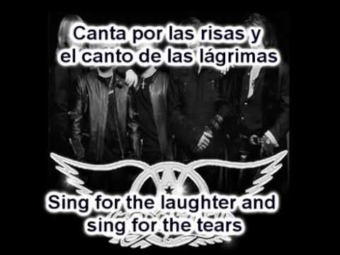 dream on aerosmith subtitulado en español e ingles