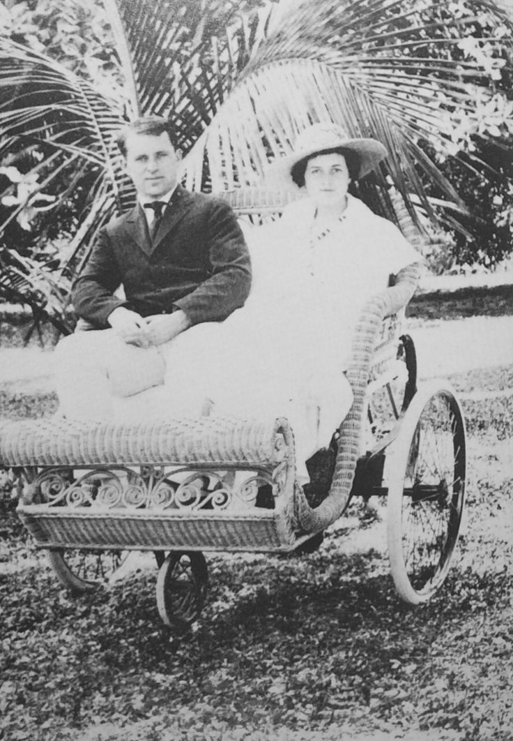 """Joe and Rose Kennedy in Palm Beach, 1925"""