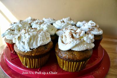 Pumpkin Spice Latte Cupcakes | Join Us, Pull up a Chair
