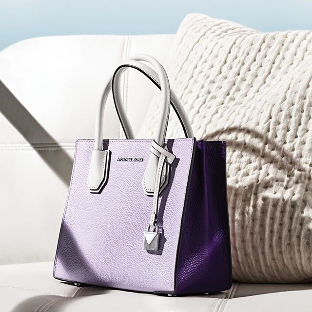 Lovely in lilac: our must have Mercer. #MichaelKors | Purple