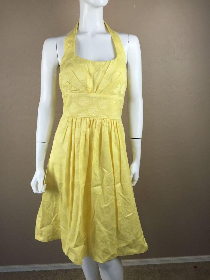 yellow lace dress size 8 body