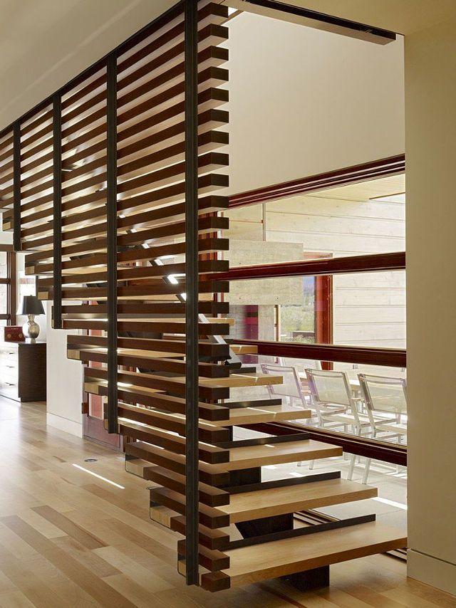 Перила-ограждения для лестницы