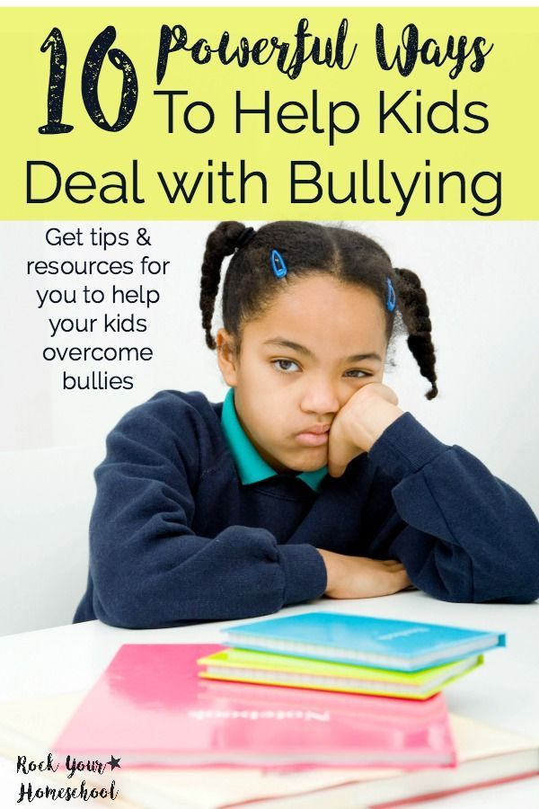 What parents can do about childhood bullying