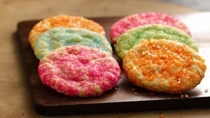 Yes! A gluten-free sugar cookie at last! Thanks to an awesome gluten-free cake mix. Super sweet, but they don't really taste GF at all. No one would no if you didn't tell them.