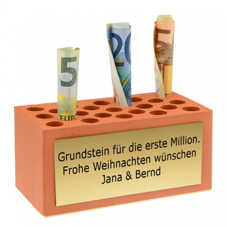 Geldgeschenk Weihnachten - Grundstein für die erste Million/euer Haus.....