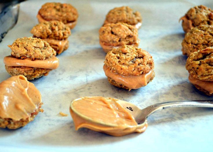 Peanut-Butter Oatmeal Sandwich Cookies | Recipe
