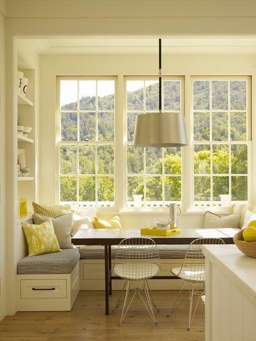 Creative Window Seat Ideas - sunny mornings