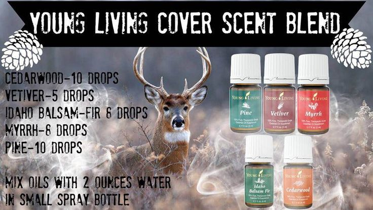 A cover scent that doesn't have a warning label  but performs well in the woods????My hubby made this kick butt blend in a spray bottle using oils of pine, vetiver, myrrh, Idaho Balsam Fir, and Cedarwood.The best part? He SMELLED amazing... like the woods not deer urine. I know, I…