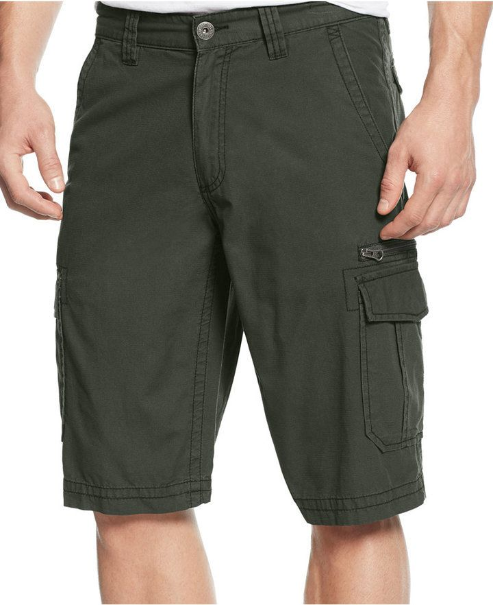 $17, INC International Concepts Jose Cargo Shorts Only At Macys. Sold by Macy's. Click for more info: https://lookastic.com/men/shop_items/355592/redirect