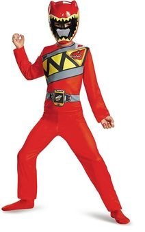 Red Power Ranger Dino Charge Child Costume Red Power Ranger Dino Charge Child Costume