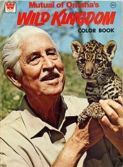 Mutual of Omaha's Wild Kingdom. It ran for 25 years, between 1963 and 1988. Host Marvin Perkins. Loved it!