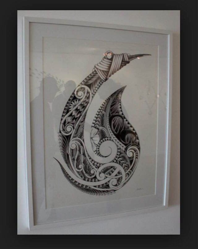 Maori Fish Tattoo: 169 Best Tribal Fish Hook Images On Pinterest