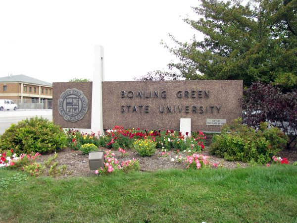 Bowling Green State University (BGSU) is a public four-year institution located in Bowling Green, Ohio, USA, about 20 miles south of Toledo, Ohio on I-75.