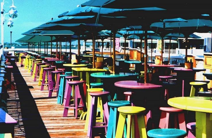 Love Sunset Pier, Key West, Florida!