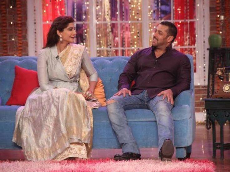 Sonam Kapoor and Salman Khan Promotes Prem Ratan Dhan Payo on Comedy Nights With Kapil-3