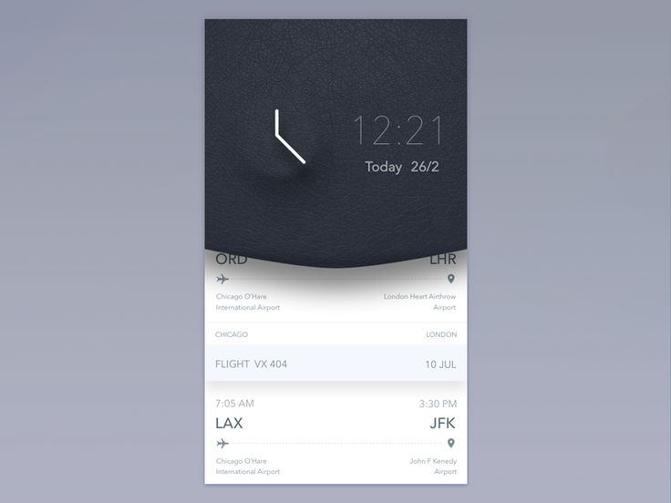 skeuomorph light concept