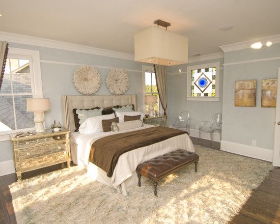 Bedroom Brown And Blue Accents. Design, Pictures, Remodel, Decor and Ideas - page 3