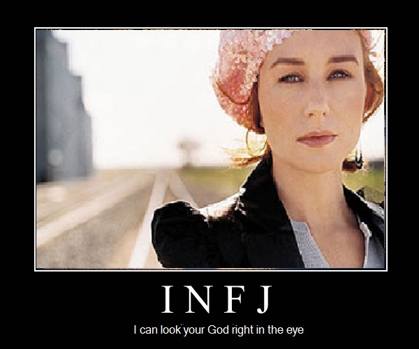 Infp male dating infj female