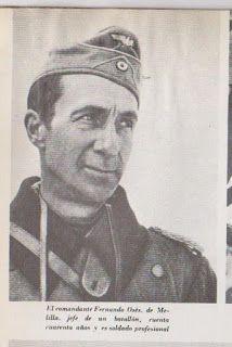 El comandante Fernando Osés, de Melilla, jefe del batallón, cuenta  cuarenta años y es soldado profesionalEL BLOG DE MANUEL MAQUEDA: LA DEV EN SIGNAL