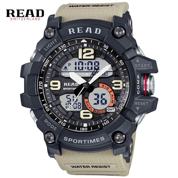 Роскошные Мужчины G Стиль Спорта Шок Часы Цифровые Часы Военные Часы Водонепроницаемые Наручные Часы Relógio Masculino #women, #men, #hats, #watches, #belts, #fashion, #style