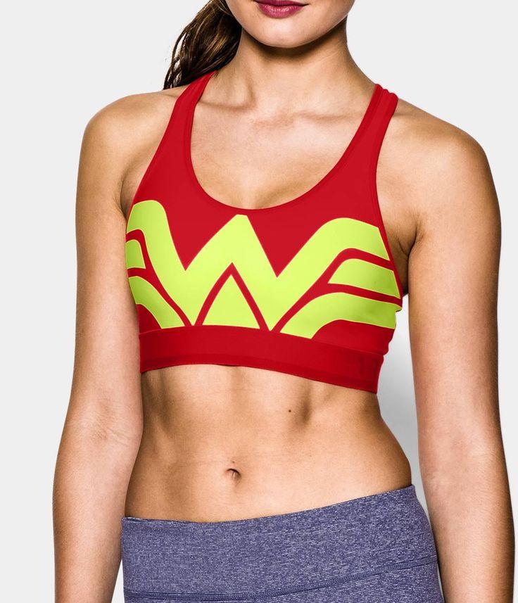 Women's Under Armour® Alter Ego HeatGear® Alpha Wonder Woman Sports Bra | Under Armour US