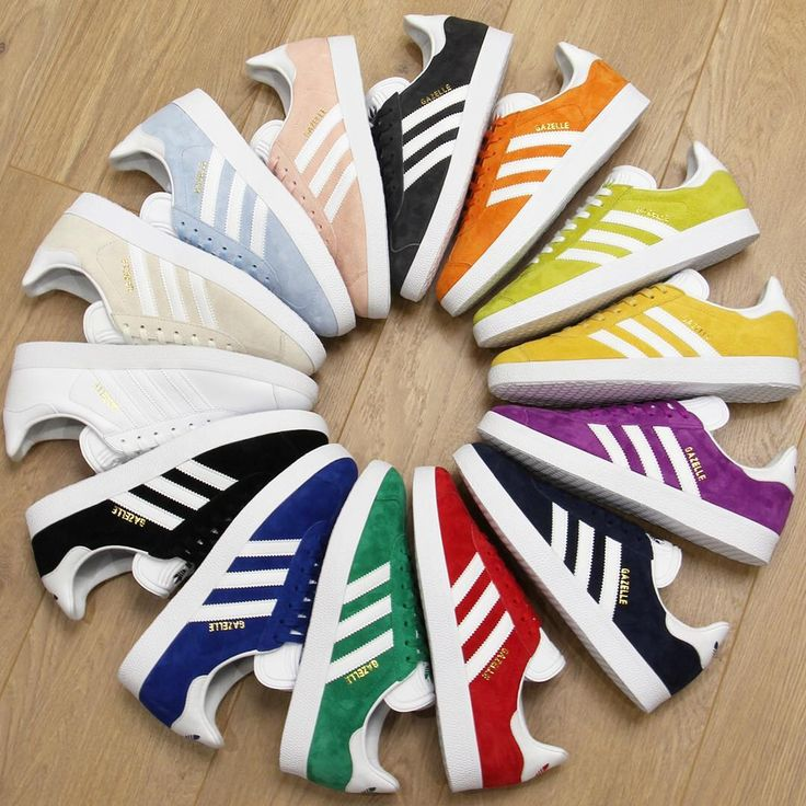 A vibrant spectrum of colour across our range of Adidas Gazelle Trainers available online. We stock many smaller and half sizes so take a look online now! Only decision is what colours are you having!? #80scasualclassics #adidas #adidasoriginals #adiporn #gazelle #adidasgazelle #trainers #retro #classic #keepingitcasual