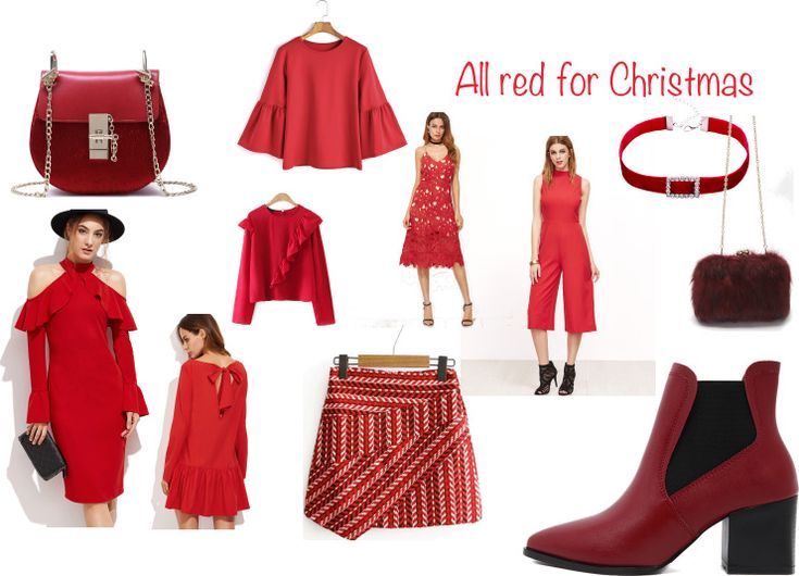 Click on the small images to go to the product So I guess most of you know that I'm love christmas, and what is a christmas without red? I need to go and buy me some red clothes for this chri…