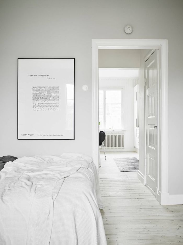 #white #minimal #bedroom