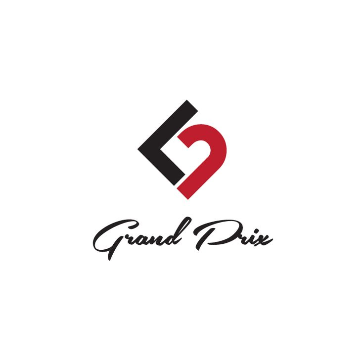 Logo for Johan & Linda Grand Prix - Wedding