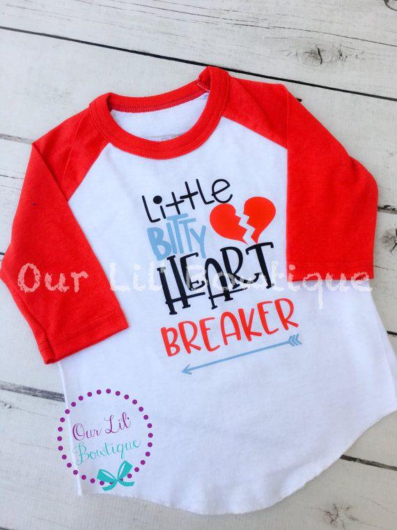 69a088e34683 Heartbreaker - Little Bitty Heartbreaker Shirt - Valentine s Day ...