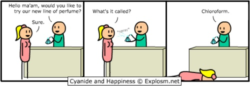 Chloroform: Cyanide, Comic, Awesome, Books Worth, Funny Stuff, Happiness, Humor, Things