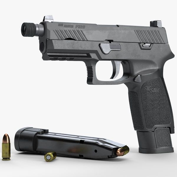 SIG Sauer P320 TACOPS Carry  Made for sale on turbosquid: https://www.turbosquid.com/Search/Index.cfm?keyword=SIG-Sauer-P320-TACOPS-Carry&include_artist=fmj_3d&referral=fmj_3d