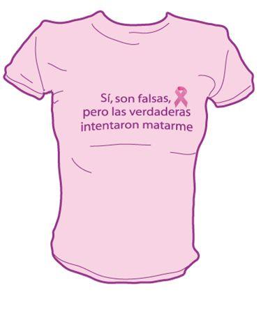 Dedicado con todo el cariño a todas esas mujeres que han perdido un pecho por un cáncer de mama.