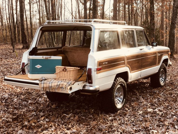 1986 Jeep Grand Wagoneer For Sale Near Cleveland Tennessee 37311
