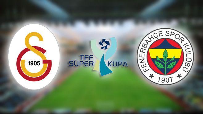 Galatasaray ve Fenerbahçe Kulüplerinin Karşılaşacağı Süper Kupa Finali için TFF'den Anlamlı Karar