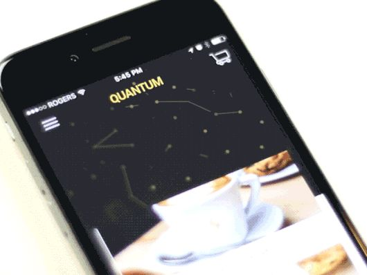 Quantum App by Gev Marotz—The Best iPhone Mockups for Your Next Product → store.ramotion.com