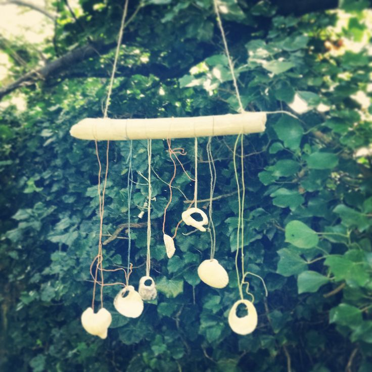 Ornaments I have made in the Garden. July 2014.