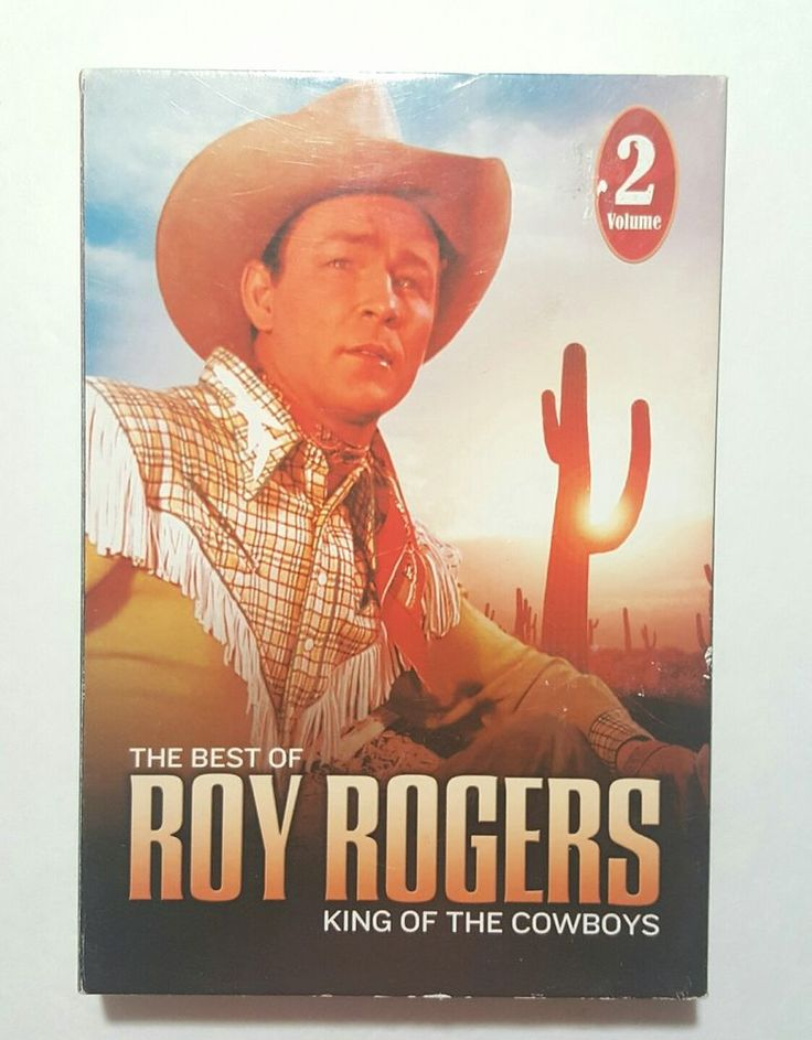 The Best of Roy Rogers King of the Cowboys 5 DVD Set Volume 2 Discs 6-10