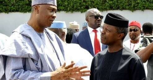 Plot to impeach Acting President Yemi Osinbajo. July 06 2017 at 11:53PM http://ift.tt/2tXppC3  A lawmaker representing Osun Central at the Senate Olusola Adeyeye has decline the media reports that the upper chamber is plotting to impeach Acting President Yemi Osinbajo.  The report went viral on Tuesday July 4 that the Senate is making a move to start an impeachment process with the aim of installing the Senate President Bukola Saraki as the Acting President of the Federal Republic of…