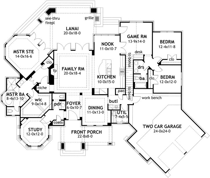 Best 25 Cottage style house plans ideas on Pinterest