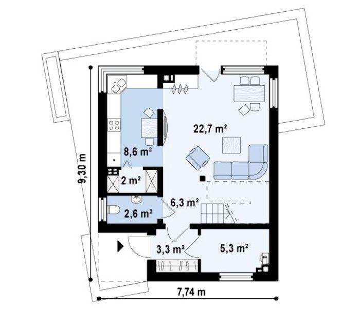 13 best planos images on Pinterest Blueprints for homes, Dorm