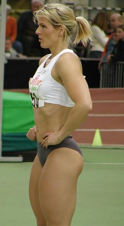 Fit sport babes with hot muscles