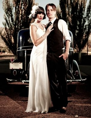 prohibition themed wedding - Google Search