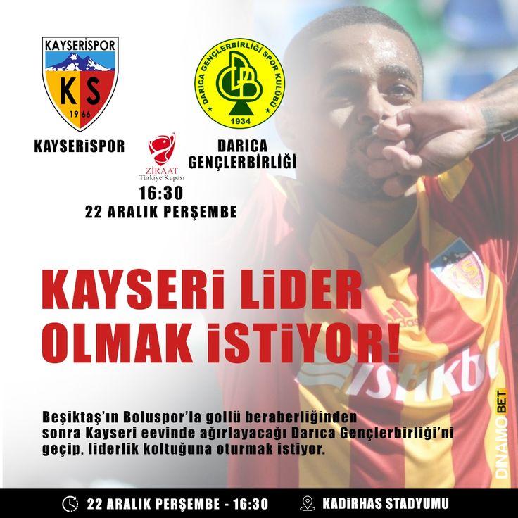 Darıca Gençlerbirliği deplasmanda puan ve puanlar arıyor. Kayserispor'da liderlik koltuğunun peşinde. www.dinamobet10.com #dinamobet #Kayserispor #DarıcaGençlerbirliği
