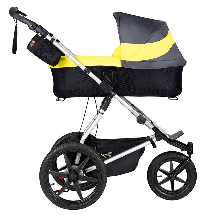 Mountain Buggy terrain jogging stroller with carrycot plus newborn option - solus http://babiesprams.net