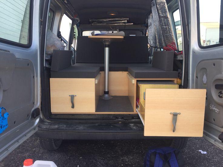 141 best images about campervans on pinterest vw caddy. Black Bedroom Furniture Sets. Home Design Ideas