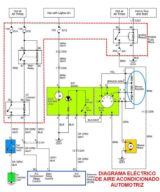 Electrical Knowhow Electrical Wiring Diagrams For Air Conditioning