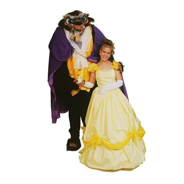 Costume Store , Beast Deluxe (Disney\u0027s Beauty and the Beast) Adult Costumes