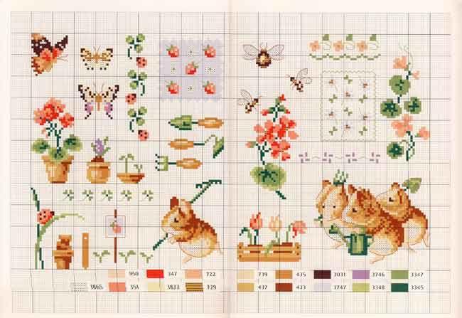 Схема вышивки беатрис